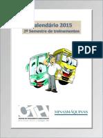 Calendario 2 Semestre 2015 Onibus Cth Minas