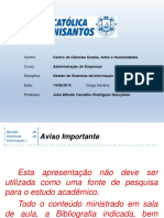 ADM - GS - II - Aula 04 - 20150814
