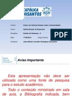 Adm - GS - II - Aula 05 - 20150817