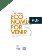 Concurso Economía Por Venir Extensión Del Plazo