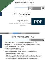 CE334 Trip Generation