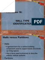 16 Wall Types