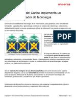 Universidad Caribe Implementa Programa Innovador Tecnologia