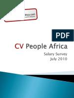 Cvpa Salary Survey 2010