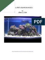 Small Reef Aquarium Basics