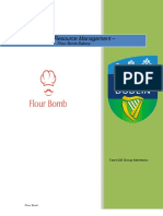 Human Resource Management Plan