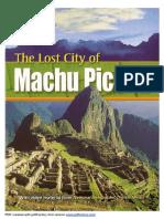 The Lost City of Machu Picchu.pdf