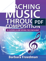 Barbara Freedman-Teaching Music Through Composition