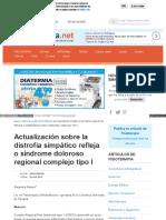 Www Efisioterapia Net Articulos Actualizacion La Distrofia s
