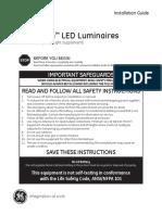 IND102 Lumination Emergency Light Option Installation Guide