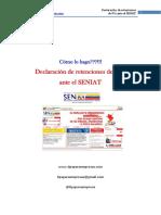 Guia Practica Para La Declaracion de Retenciones de IVA Al SENIAT1