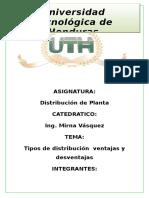 Distribuicion de Planta
