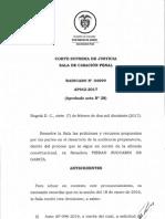Corte retira intercceptaciones hechas a Piedad Zuccardi