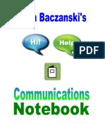 Comm Notebook