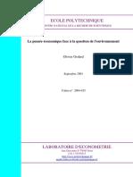 Godard 2004 Economie de Lenvironnement