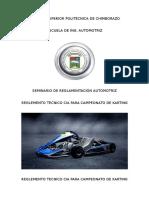 Reglemento Tecnico CIA Para Campeonato de Karting