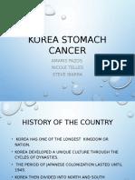 korea stomach cancer