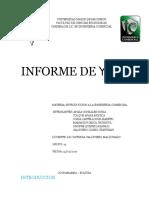 Informe de Ypfb Umss