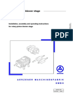 Operating Instruction Rotary Piston GM 150S