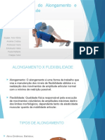 Fisiologia Do Alongamento e Flexibilidade