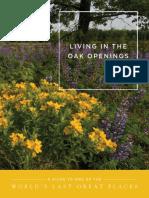 Living in the Oak Openings