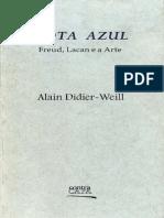 Alain Didier Weill Nota Azul Freud Lacan e a Arte
