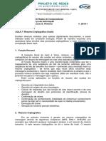 UniFOA - Segurança Da Informação - Aula 7