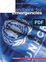 Handbook for Emergencies 1