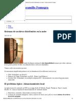 Sistemas de Archivos Distribuidos en La Nube - Felipe Jaramillo Fonnegra