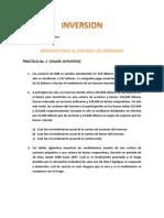Practica I Introduccion al proceso de inversion