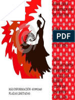 pancarta cena flamenca