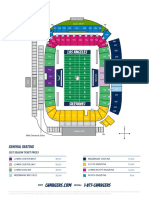 Los Angeles Chargers 2017 seating chart for StubHub Center