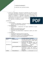 Secuencia Didáctica 1er Ciclo