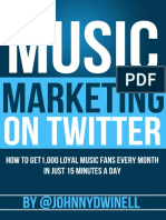 Music Marketing on Twitter v5