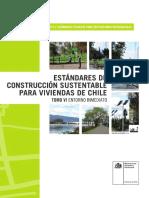 estandares de construccion sustentable para viviendas de chile