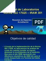 Calidad de Laboratorios ISO 17025