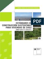 estandares de construccion sustentabla para viviendas / impacto ambiental