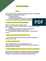 SAP SD Question+Answer