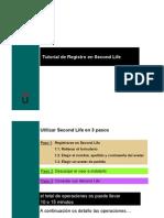 Tutorial Registro Second Life