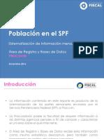 Reporte de Información Población Penal Diciembre 2016