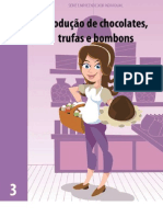 3 - Produção de chocolates, trufas e bombons
