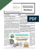 2017 First Quarter MintMark