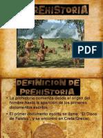 CONFERENCIA prehistoria.odp