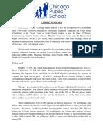 CPS Lawsuit Against Gov Summary