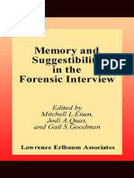 Eisen, Mitchell L. - Memory and Suggestibility in the Forensic Interview (Personality and Clinical Psychology) (2001).pdf