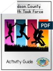 Youth Task Force Activities 2016