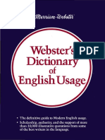 Websters Dictionary of English Usage