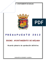 Acuerdo Plenario de Aprobacion Definitiva