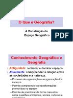 01 - O Que é Geografia.2017
