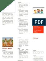 CULTURAS INDÍGENAS COLOMBIANAS